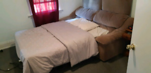 Double Bed Sofa Combo