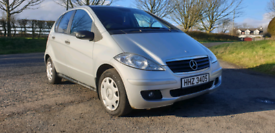 2006 MERCEDES A150 SE PETROL MOTED TO AUGUST POSSIBLE PART EXCHANGE