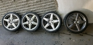 "17"" used rims to sell"