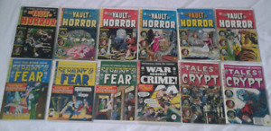 EC Comics reprints lot of 18