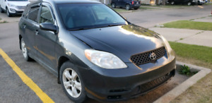 Great condition Toyota Matrix for sale.