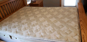 Sears  queen size mattress and boxspring set