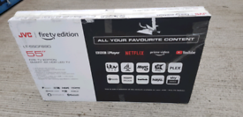 """TV 55"""" JVC NEW SMART 4K ULTRA HD HDR WITH BUILT IN FIRE STICK £349"""