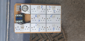 Hydroponic contactor timer board
