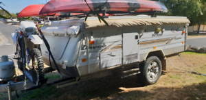 Jayco swan outback2005