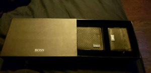 REAL authentic HUGO BOSS mens wallet and card holder