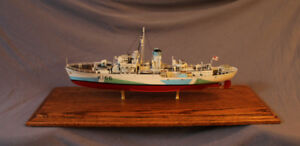 HMCS Snowberry Museum Quality Model Ship RCN Navy