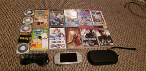 PSP Carrying Case & Games