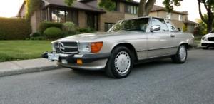 Mercedes Benz 560sl 1989