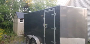 7×14 Construction utility trailer