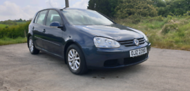 2008 VOLKSWAGEN GOLF 1 6 FSI MATCH MOTED TO AUGUST POSSIBLE PART EX