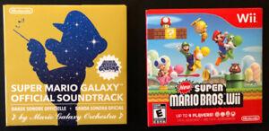 Super Mario Bros.Wii + Super Mario Galaxy Soundtrack