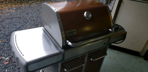 Weber Genesis Natural Gas Outdoor Grill, Copper(BBQ)