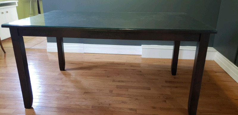 beveled inch mirror edge tops top dulles table and thick round glass
