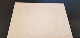 Cream Tiles 330mm x 235mm NEW