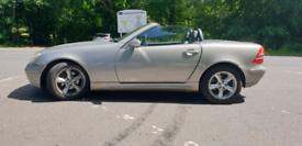 Mercedes SLK 200 2003 sell swap