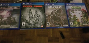 4 x PS4 games for 10$