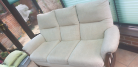 3 seater sofa with 2 arm chairs