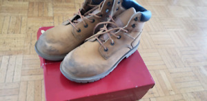 Steel toe work boot for sale