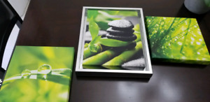 Set of 3 wall decors