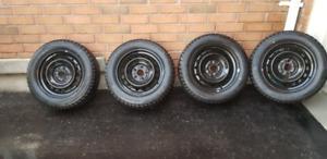 Bridgestone Blizzak WS80 Winter tires 215/55R16