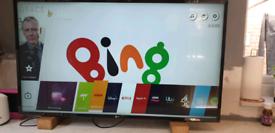 "LG 43"" 4k smart TV"