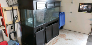 180G Aquarium and Monterey Stand and Canopy !!!Sump included!!!