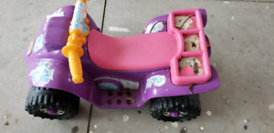Battery operated kids ride on toy.