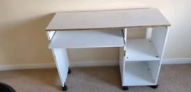Ikea White Study/Office Desk Table