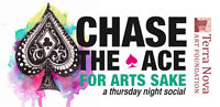 Chase the Ace for Arts Sake: a thursday night social