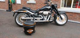 Wee steel drum stools on wheels Harley Davidson fatboy ford honda