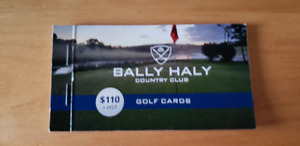 Bally Haly Club Card