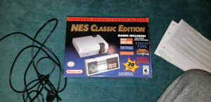 NES Classic Edition w/controller extension cable