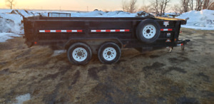 16 foot PJ dump trailer2012