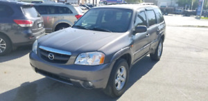 2003 Mazda Tribute 4WD V6 Only 137,000kms Certified and Etested