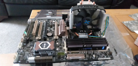 Asus Sabertooth 990FX R2.0 Gaming Motherboard, AMD FX8350 8 Cores @4.0ghz & 16gb Memory Bundle