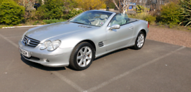 image for New model MERCEDES SL350 SPORTS CONVERTIBLE FULLY LOADED FSH P/X