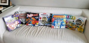 4 Board Games/3D Puzzle of Toronto $20  (Game Of Life Not Incl)
