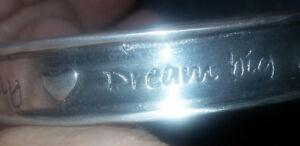 """Solid Silver/Pewter Bracelet - """"Basic Spirit"""""""