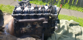 Mercedes ML270 w163 engine