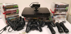 PS3 with 45 games