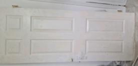 Bedroom door..