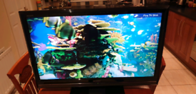 Sharp 37inch lcd freeview tv