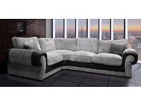 ***FREE footstool Ashley corner sofa **brand new