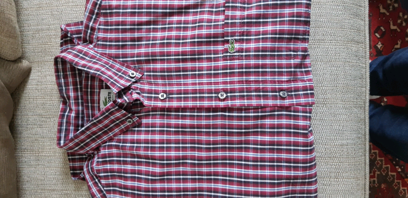 3f655a511c45a Lacoste Men's Check Shirt Size 42 Regular | in Newcastle, Tyne and Wear |  Gumtree