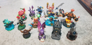 Wii Skylander Figurines for the Game