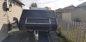 10ft enclosed double snowmobile trailer
