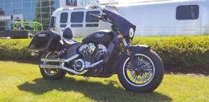 2017 Indian Motorcycle Scout Thunder Black Smoke