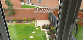 A large double bed available in 2 bed estate house *No admin fees* *No couples*