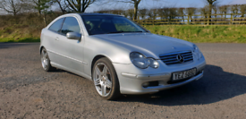 2006 MERCEDES C220 CDI SE AUTO COUPE MOTED TO DECEMBER 2021